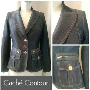 Caché Contour Collection Jean Jacket